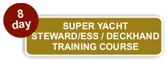 Crew Pacific's 8 Day Steward/ess /  Deckhand Course